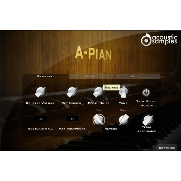 JRRshop com | Acoustic Samples A-Pian