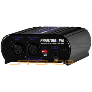 ART Phantom II Pro Dual Ch. Phantom Power Supply