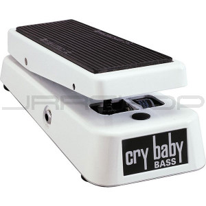 Dunlop Crybaby 105Q Bass Wah - White