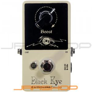 EarthQuaker Black Eyes Clean Boost Pedal