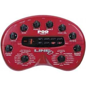 Line 6 POD 2.0 Amp Modeler for Direct Guitar Recording