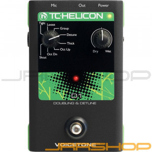 TC Electronic TC-Helicon VoiceTone Single D1 Doubling & Detune