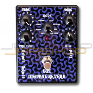 Tone Weal GT-1 Digital Reverb  - Black