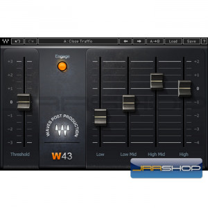 Waves W43 Noise Reduction Native - Download License