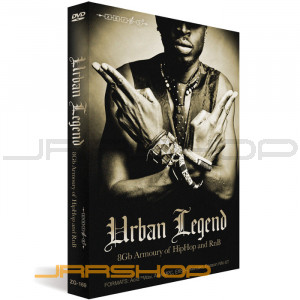 Zero-G Urban Legend Hip Hop & RnB Sound Library