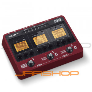 Zoom B3 Bass Effects
