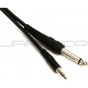 "Hosa CMP-105 Stereo 3.5mm (M) to Unbalanced 1/4"" (M) 5 ft."