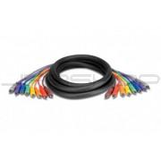 Hosa CRA-802MTL 8-Ch Recording Snakes RCA 2m