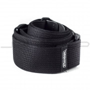 Dunlop Strap D27-01BK STRAP RIBBED COTTON BLACK-EA