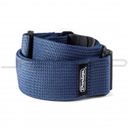 Dunlop Strap D27-01NV STRAP RIBBED COTTON NAVY BLUE-EA
