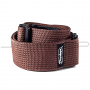 Dunlop Strap D27-01BR STRAP RIBBED COTTON CHOCOLATE-EA