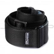 Dunlop Strap D38-09BK STRAP SOLID BLACK-EA