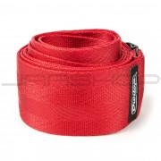 Dunlop Strap DST70-01RD DELUXE SEATBELT STRAP RED-EA