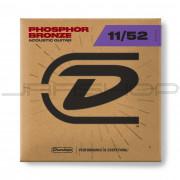 Dunlop Acoustic Phosphor Bronze String Set DAP1152 AG-PHB 11/52-6/SET