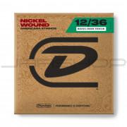 Dunlop Banjo Nickel Wound String Set DJN1236 BANJO-NKL TENOR IRISH 12/36-4/SET