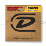 Dunlop Banjo Phosphor Bronze String Set DJP0920 BANJO-PHB 09/20-5/SET