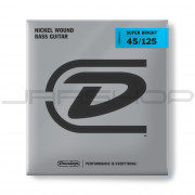 Dunlop Bass Super Bright Nickel String Set DBSBN45125 BASS-NKL SB MD-5/SET