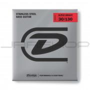 Dunlop Bass Super Bright Steel String Set DBSBS30130 BASS-SS SB MD-6/SET