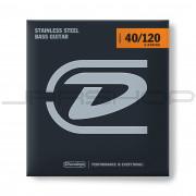 Dunlop Bass Stainless Steel Taper String Set DBS40120T BASS-SS 40/120T-5/SET