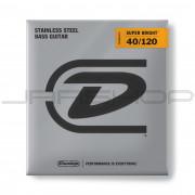 Dunlop Bass Super Bright Steel String Set DBSBS40120 BASS SS SB LT-5/SET