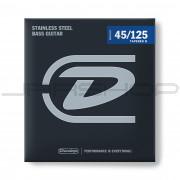 Dunlop Bass Stainless Steel Taper String Set DBS45125T BASS-SS 45/125T-5/SET
