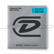 Dunlop Bass Super Bright Steel String Set DBSBS45125 BASS SS SB MD-5/SET