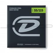 Dunlop Bass Stainless Steel String Set DBS55115 BASS-SS 55/115-4/SET