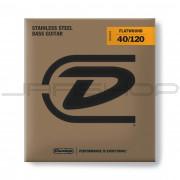 Dunlop Bass Flatwound Long Scale String Set DBFS40120 BASS FLATWND LG SCALE 40/120-5/SET