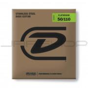 Dunlop Bass Flatwound Long Scale String Set DBFS50110 BASS FLATWND LG SCALE 50/110-4/SET
