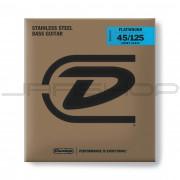 Dunlop Bass Flatwound Short Scale String Set DBFS45125S BASS FLATWND SH SCALE 45/125-5/SET