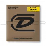 Dunlop Bass Flatwound Medium Scale String Set DBFS40100M BASS FLATWND MD SCALE 40/100-4/SET
