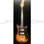 Harmony 57-1401 Three Tone Sunburst Electric Guitar Used