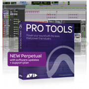 Avid Pro Tools Perpetual with 1 Year Update and Support No iLok