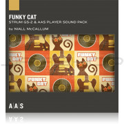 AAS Applied Acoustics Systems Funky Cat Sound Pack for Strum GS-2