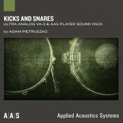 AAS Applied Acoustics Systems Kicks and Snares Sound Bank for Ultra Analog VA-2