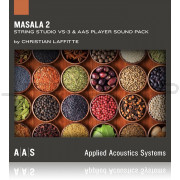 AAS Applied Acoustics Systems Masala 2 Sound Bank for String Studio VS 3