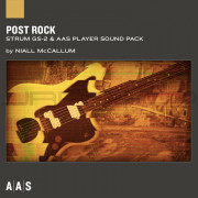 AAS Applied Acoustics Systems Post Rock Sound Pack for Strum GS-2