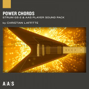 AAS Applied Acoustics Systems Power Chords Sound Pack for Strum GS-2