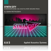 AAS Applied Acoustics Systems Synth City Sound Pack for Chromaphone 2
