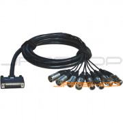 ALVA Digital AES/EBU Cable D-sub25 to 8 x XLR