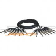 ALVA Premium Analog Cable 8 x TRSM to 8 x TRSM