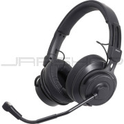 Audio Technica BPHS2C-UT Broadcast stereo headset with cardioid condenser boom microphone, unterminated