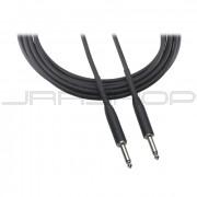 """Audio Technica AT8390-25 Instrument cable, 1/4"""" - 1/4"""" phone plug, 25'"""