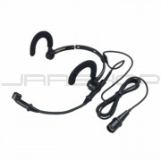 """Audio Technica AT889CW Moisture-resistant headworn condenser microphone with 55"""" cable terminated"""