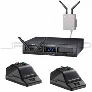 Audio Technica ATW-1377 System 10 Wireless systems microphone desk stand system