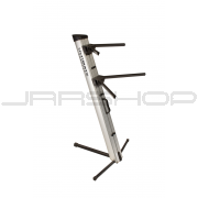 Ultimate Support AX-48 Pro Apex Column Keyboard Stand Silver