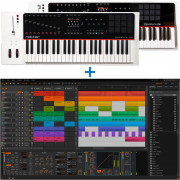 Bitwig Studio + Nektar Panorama P6 61-Note Keyboard Combo