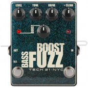 Tech 21 Bass Boost Fuzz Metallic Effect Pedal