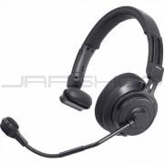 Audio Technica BPHS2S-UT Single-ear broadcast headset with hypercardioid dynamic boom microphone, unterminated