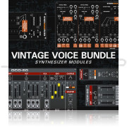 Cherry Audio Vintage Voice Bundle for Voltage Modular